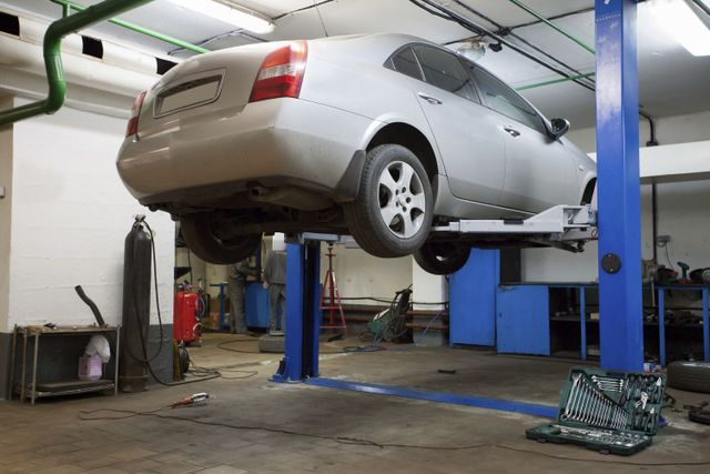 Example of car maintenance in Gulf Shores, AL