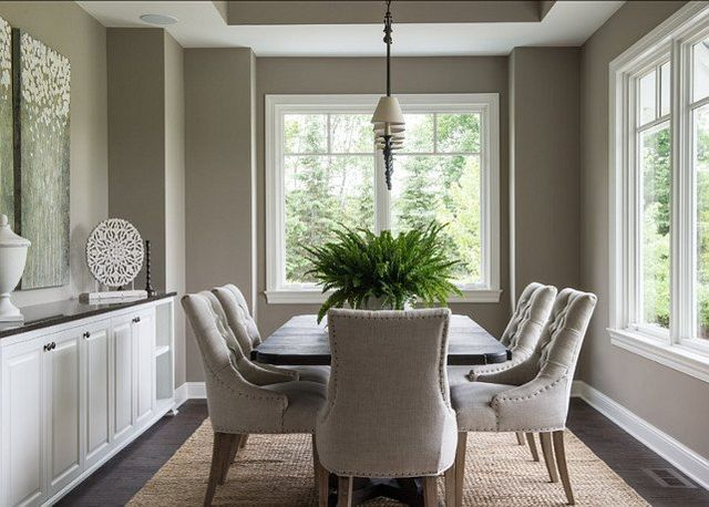 Painted dining room walls
