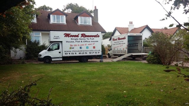 truck for home removals