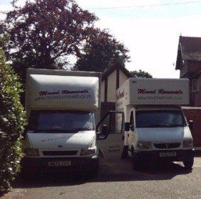 commercial removals vehicles