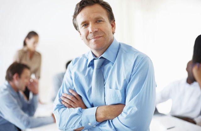 man at title loans office in Crossville, TN
