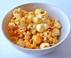 small bowl of popcorn