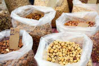 bags of mixed nuts