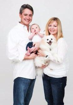 oldest Pomeranian ever, with family
