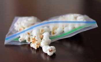 small bag of popcorn