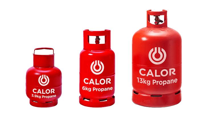 Propane bottle gas