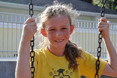 Girl in StarChild Academy's After-School Program