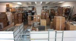deposito di ricambi per assistenza elettrodomestici