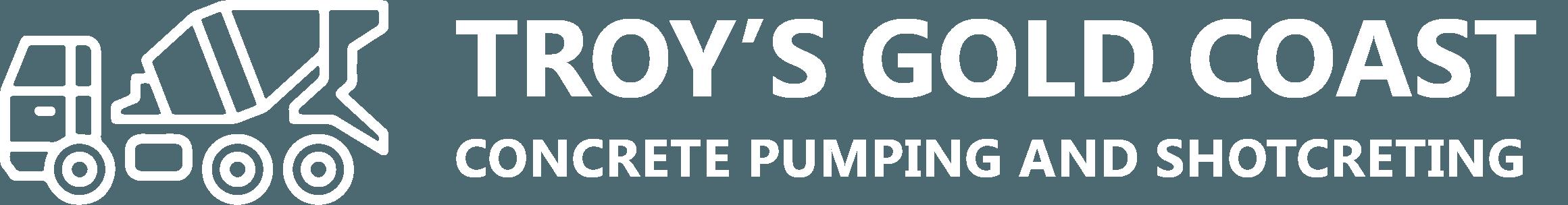 troys concrete pumping logo