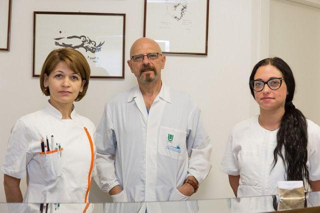 Dottor Giuseppe Scarcella e il suo staff