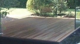 pavimento da esterno di legno