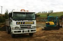 machinery truck in Wairarapa