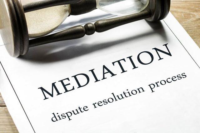 Mediation dispute resolution process
