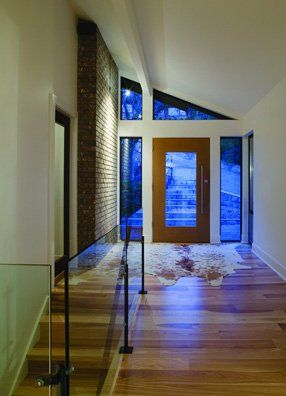 Flooring Services - MIKE BADDELEY Ltd - York, Yorkshire - Contemporary hallway with wooden floors