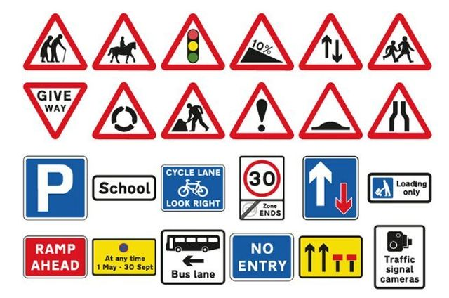 Concise Traffic Signs For Road Safety In London