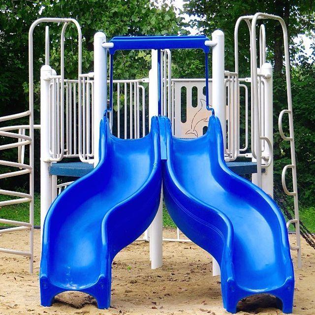 Blue color slides