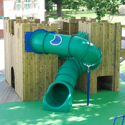 View of an outdoor play area