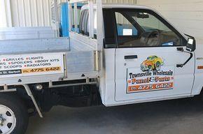 公司拖车卡车-汤斯维尔批发面板和零件在Garbutt, QLD