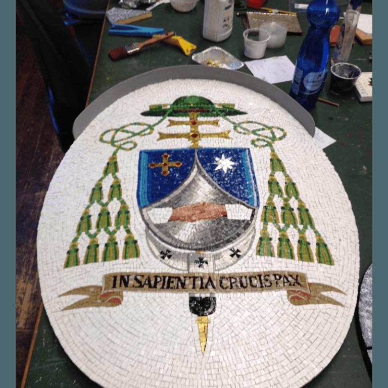 stemma vescovo parrocchia san vittore ravenna