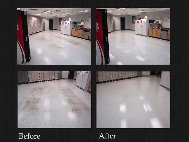 vct floor cleaning escondido