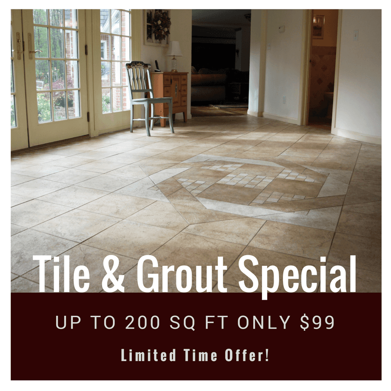 tile and grout cleaning deal