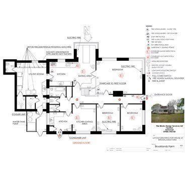 Site surveys and building plans