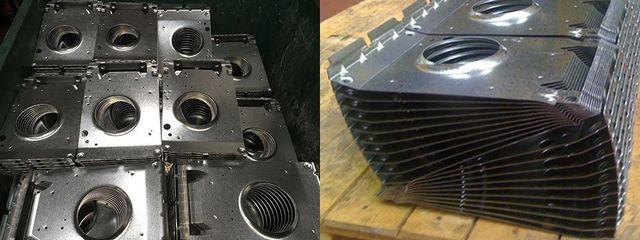 australian general engineering stamping machine pressed steel sheets