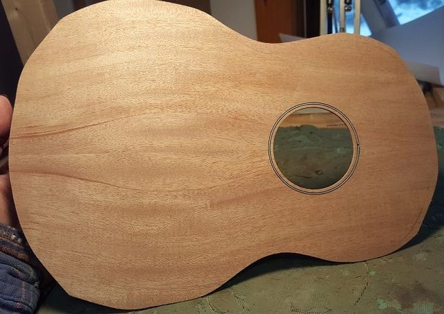 Mahogany top ukulele