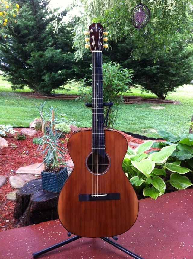 crossover acoustic guitar