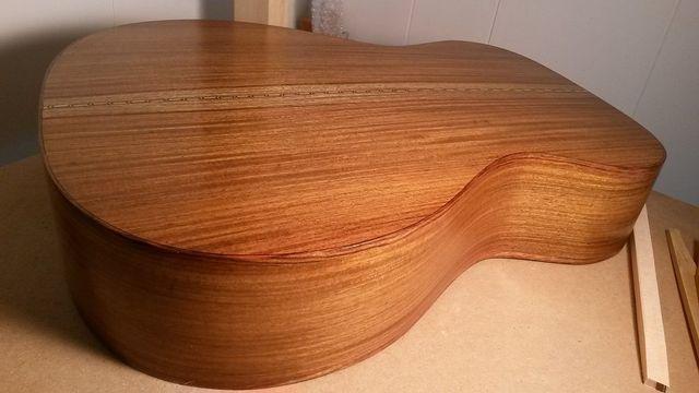 Monkman acoustic guitar