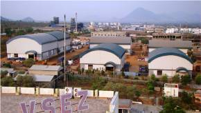 OWS warehouses at Vizag SEZ