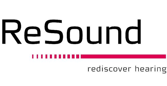 ReSound hearing aid products logo