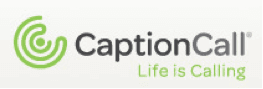 CaptionCall hearing aid products logo