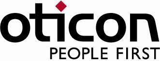 Oticon hearing aid products logo