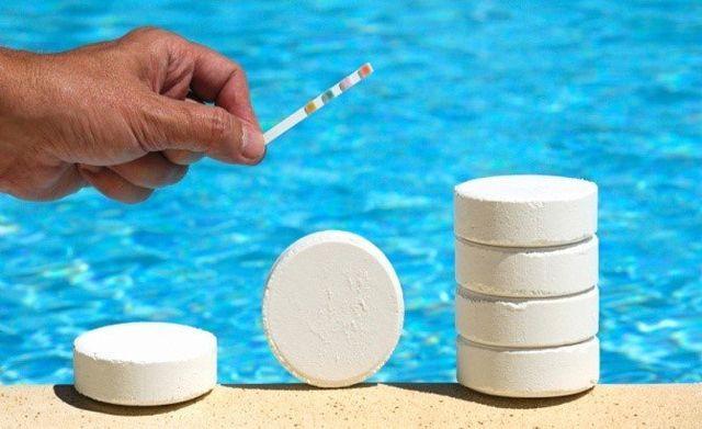 prodotti chimici mantenere la perfetta igiene dell'acqua e un corretto livello del PH