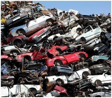 smaltimento pezzi auto