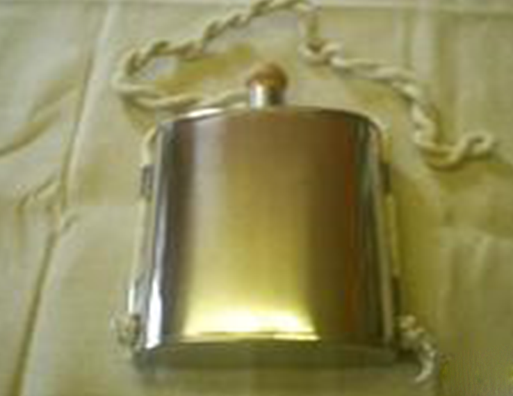 18th century canteen  (with cork stopper)