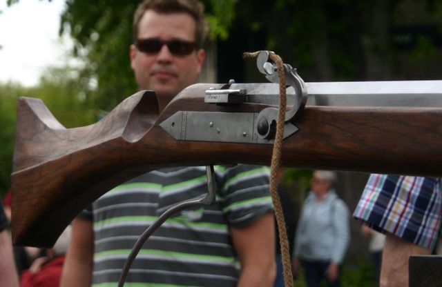 Stock of Bourtange Wall Gun