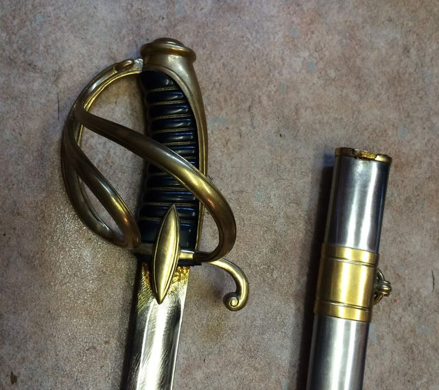 AN XI French Cavalry Officers Sabre