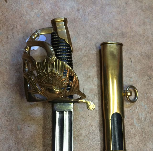 French Heavy Cavalry Sword