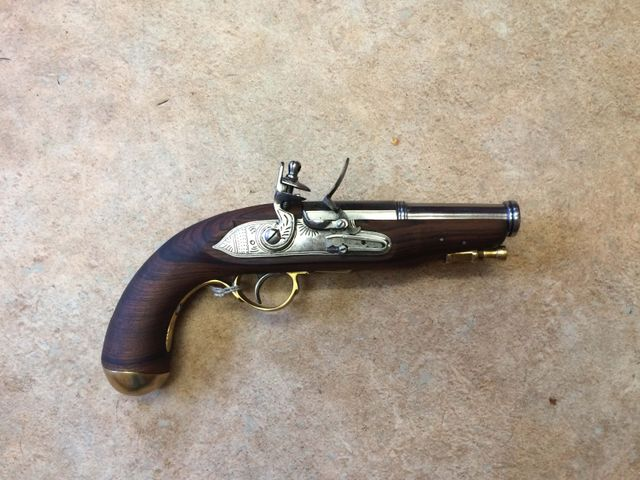 Spanish Overcoat Pistol