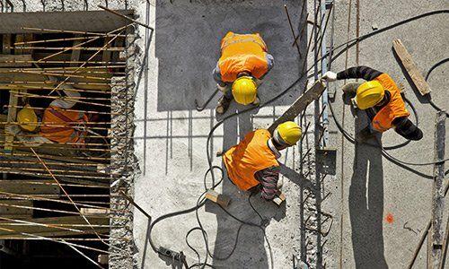 Imprese a Piacenza - operai in cantiere