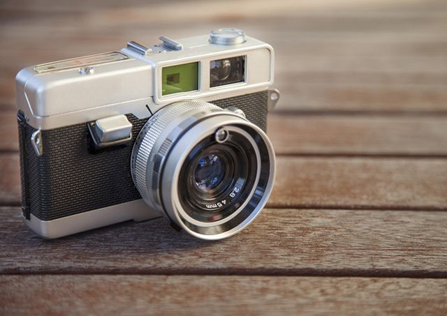 Vintage camera in Hamilton