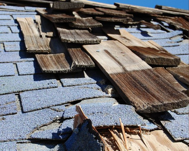 Roof in need of roofing services in Fairbanks, AK