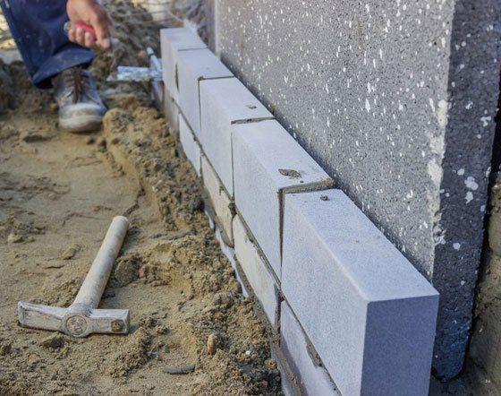 easy handling concrete blocks