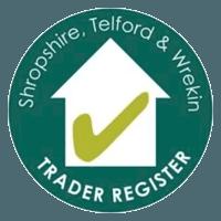 Trader register logo
