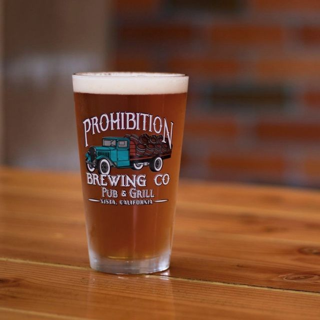 chocolate oatmeal stout vista prohibition brewing