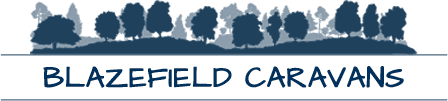 Blazefield Caravans company logo