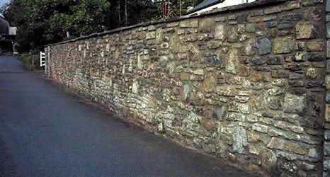 Stone walling by Kinsale Stone Co