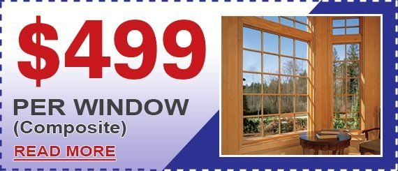 Composite Window Special from Maintenance Free Window Company